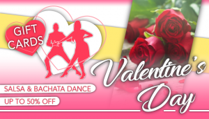 Valentine's Day Gift Card Offer Dance Lessons Cardiff Salsa Bachata Classes Havana People