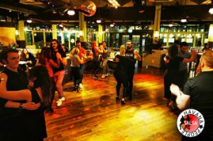 salsa dance classes in Cardiff and bachata class with Havana People Mariano and Rhian